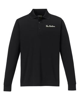 Picture of Core365 Perforamnce Long Sleeve Pique Polos